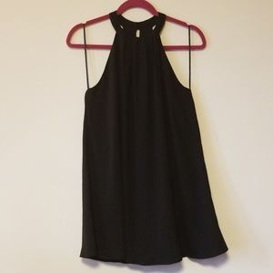 Little black swing dress